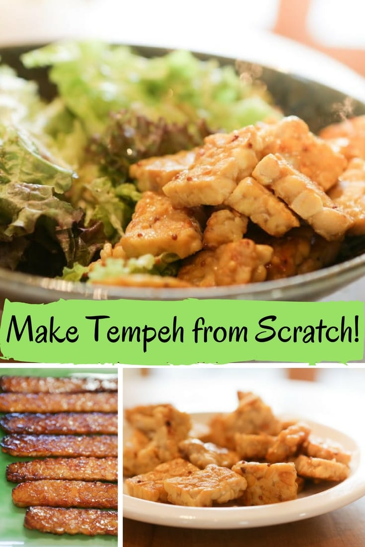 It's very satisfying to make your own Tempeh!  This recipe walks you through the entire process of making your own delicious Tempeh. Easier than you think!