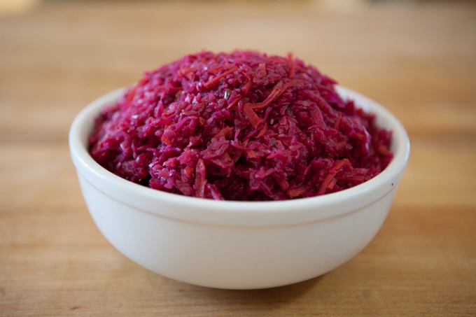 Shredded Purple Curtido