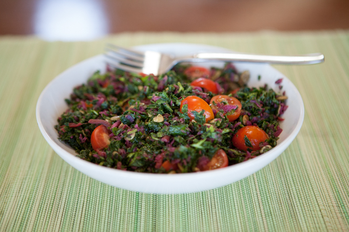 Kale Curtido Salad